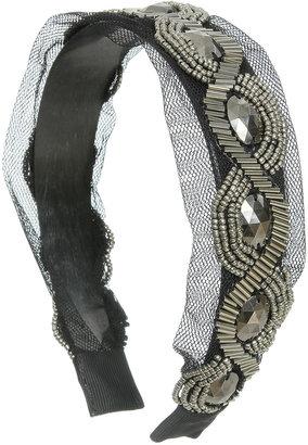Arden B Studded Mesh Headband