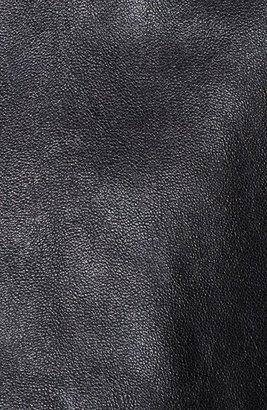 BLK DNM Sleeveless Leather Top