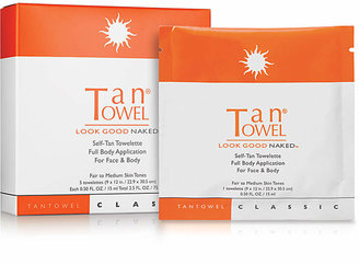 TanTowel Self-Tan Towelette Full Body Application For Face & Body
