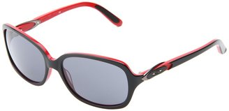 Oakley Obligation (Black/Red W/ Grey) - Eyewear