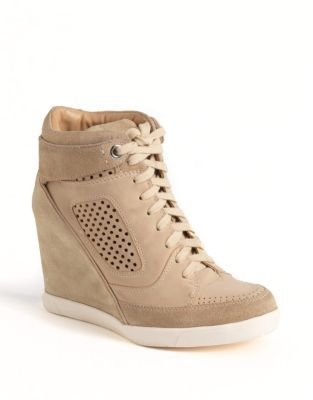 French Connection Marla Hidden-Wedge Hi-Top Sneakers