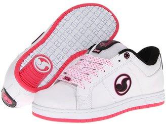 DVS Shoe Company Mastiff W (White Action Leather) - Footwear