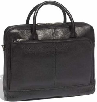 Bosca Slim Leather Briefcase