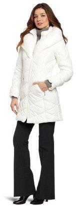 Weathertamer Women's Pillow Collar Down Jacket
