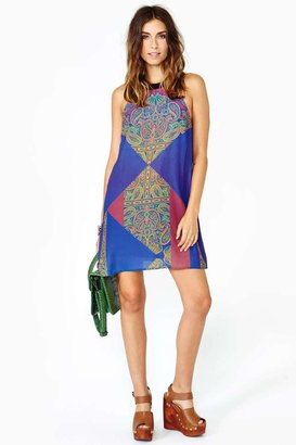 Nasty Gal Paisley Trip Dress