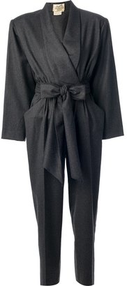 Hermes Pre-Owned belted jumpsuit