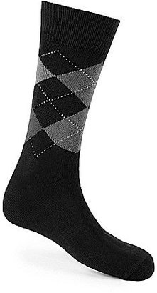 Johnston & Murphy Argyle Dress Socks