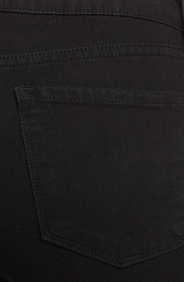 Vince 'Taylor' High Rise Bootcut Stretch Jeans (Resin Black)