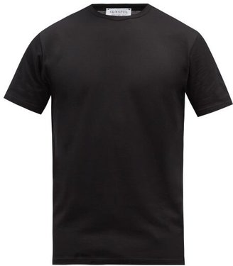 Sunspel Cotton-jersey T-shirt - Black