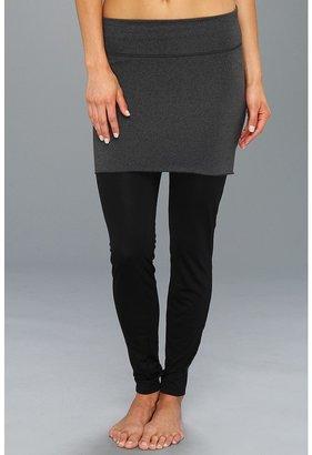New Balance Anue Arise Skirt (Black Heather) - Apparel