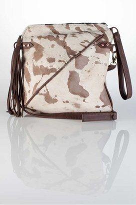 House Of Harlow Jolie Bag in Taupe Burnout