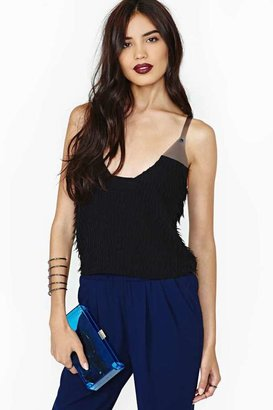 Nasty Gal Collection Flutter Effect Tank