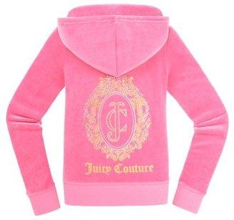 Juicy Couture Original Jacket in Ornate Monogram Velour