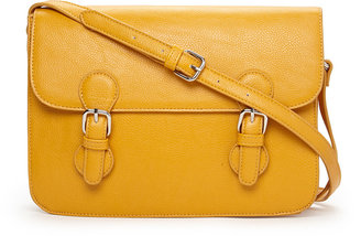 Forever 21 Runaround Faux Leather Satchel