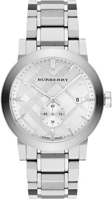 Burberry Men's Swiss Stainless Steel Bracelet Watch 42mm BU9900 $595 thestylecure.com