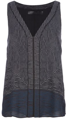 Proenza Schouler panel striped vest top