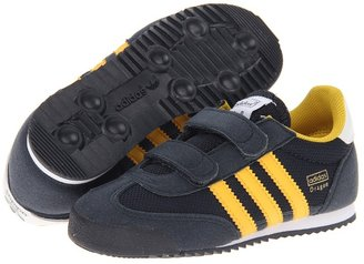 adidas Kids - Dragon (Infant/Toddler) (Legend Ink/Ray Yellow/White) - Footwear