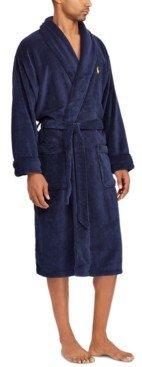 Polo Ralph Lauren Men's Sleepwear Soft Cotton Kimono Velour Robe