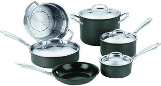 Cuisinart GreenGourmet Hard Anodized Nonstick Cookware Set 10pc