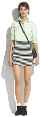 Madewell Ridgestripe skirt