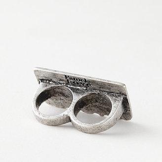 Pamela Love dia de los muertos double finger ring