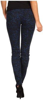 Joe's Jeans The Skinny in Painter Leopard (Blue/Green) - Apparel
