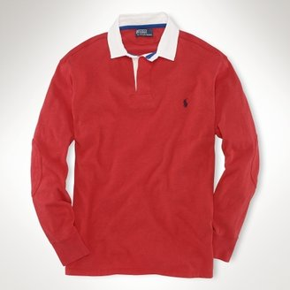 Polo Ralph Lauren Big & Tall Classic Contrast-Collar Rugby