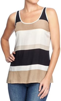 Old Navy Women's Color-Blocked Crepe Tanks