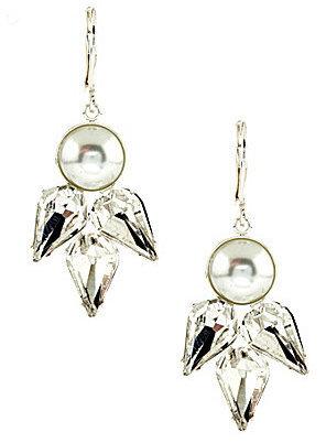 Cezanne Mosiac Stone Teardrop Earrings