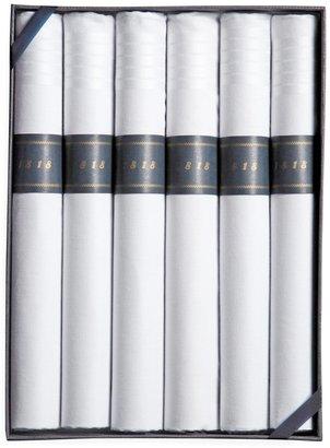 Brooks Brothers Cigar-Rolled Handkerchiefs-6pk
