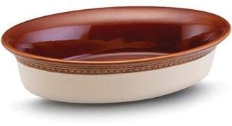 Paula Deen 2-qt. Southern Gathering Stoneware Au Gratin Dish, Chestnut