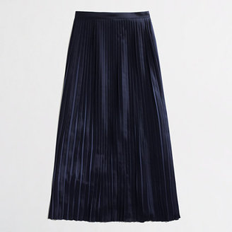 J.Crew Factory Factory pleated maxiskirt