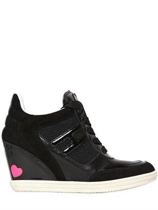 Hogan 80mm Attractive Calf Sneakers