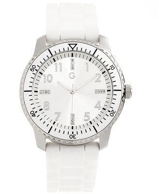 G by Guess Sporty White Band