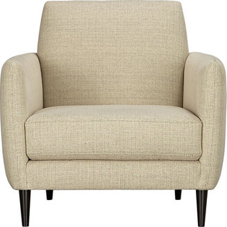 CB2 Parlour Oatmeal Chair