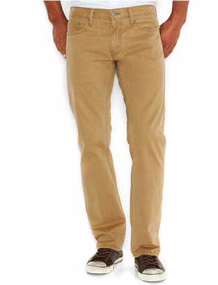 Levi's Men's 514 Straight Fit Soft Twill Pants $59.50 thestylecure.com