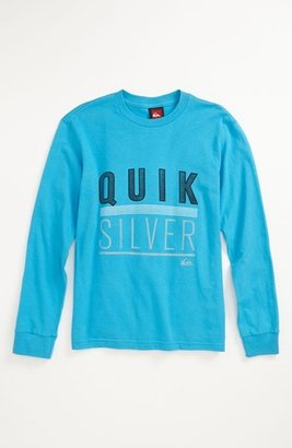 Quiksilver 'Simplifier' Long Sleeve T-Shirt (Little Boys) (Online Only)