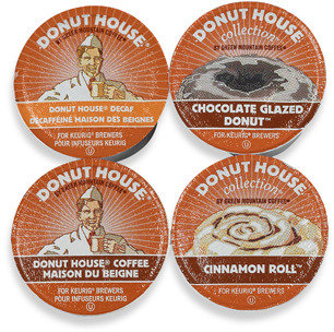 Keurig K-Cup® Green Mountain Donut House Coffees for Brewers