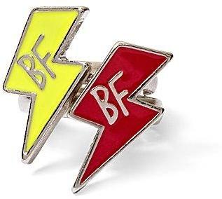Lightning Bolt Total Girl 2-pc. BFF Rings