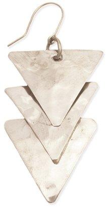 Z Designs Triple Triangle Earrings