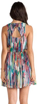 BB Dakota Kenza Cascade Mini Dress