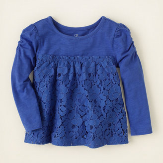 Children's Place Cha cha lace top