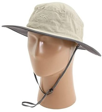 Outdoor Research Solar Roller Hat (Khaki/Dark Grey) Caps