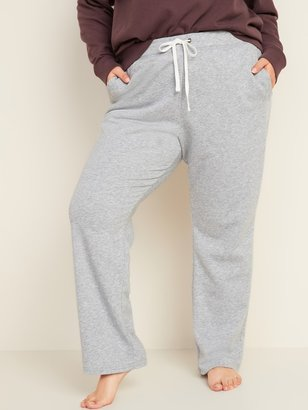 Old Navy Mid-Rise Straight French Terry Plus-Size Sweatpants