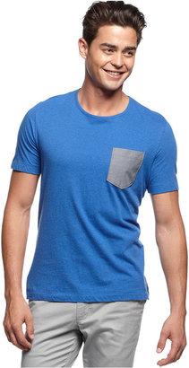 Kenneth Cole Reaction Shirt, Short Sleeve Pocket T-Shirt