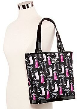 Lulu by Guinness® Umbrella-Print Tote