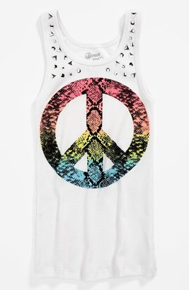 Flowers by Zoe 'Peace' Tank Top (Little Girls & Big Girls)