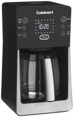 Cuisinart Crystal Limited Edition Perfec Temp 14-Cup Programmable Coffeemaker, Black