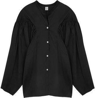 Totême Moncton Black Lyocell-blend Shirt