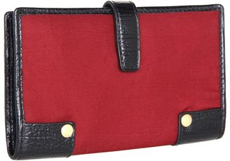 Ellington Leather Goods Mia Checkbook/Wallet (Burgundy) - Bags and Luggage